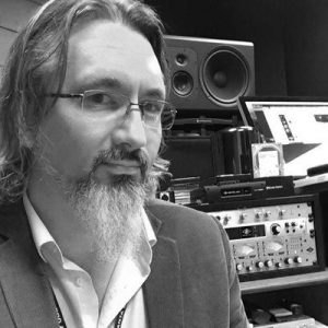 Record Producer and Vinyl Label Owner in Atlanta, Jimmy Ether.